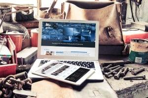 Bay Ltd. Website Mockup