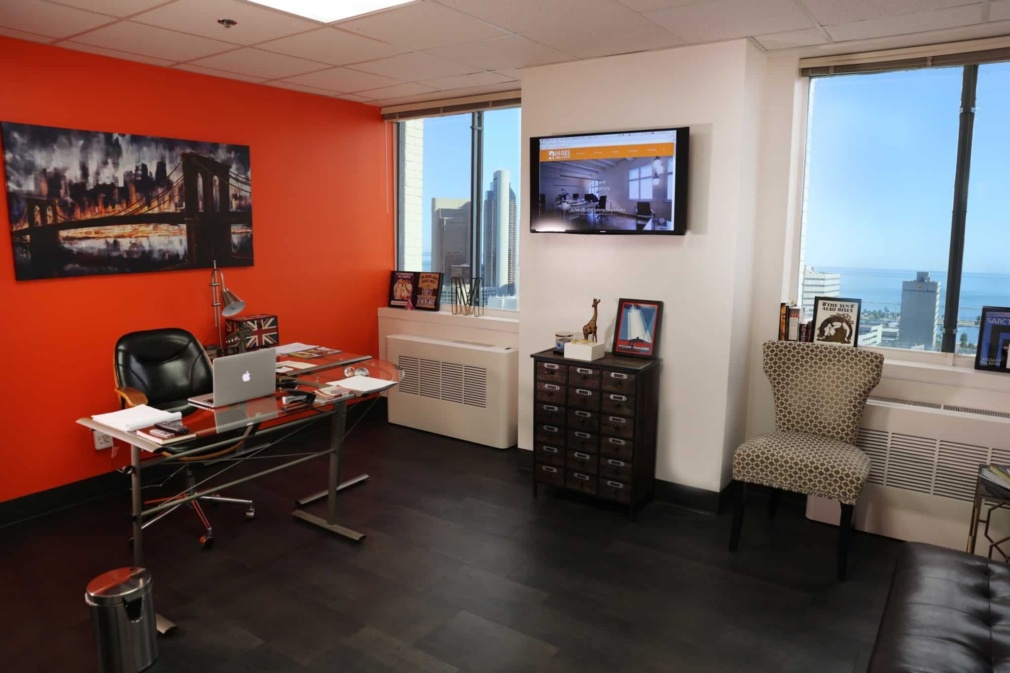 Marco Carbajal's Office