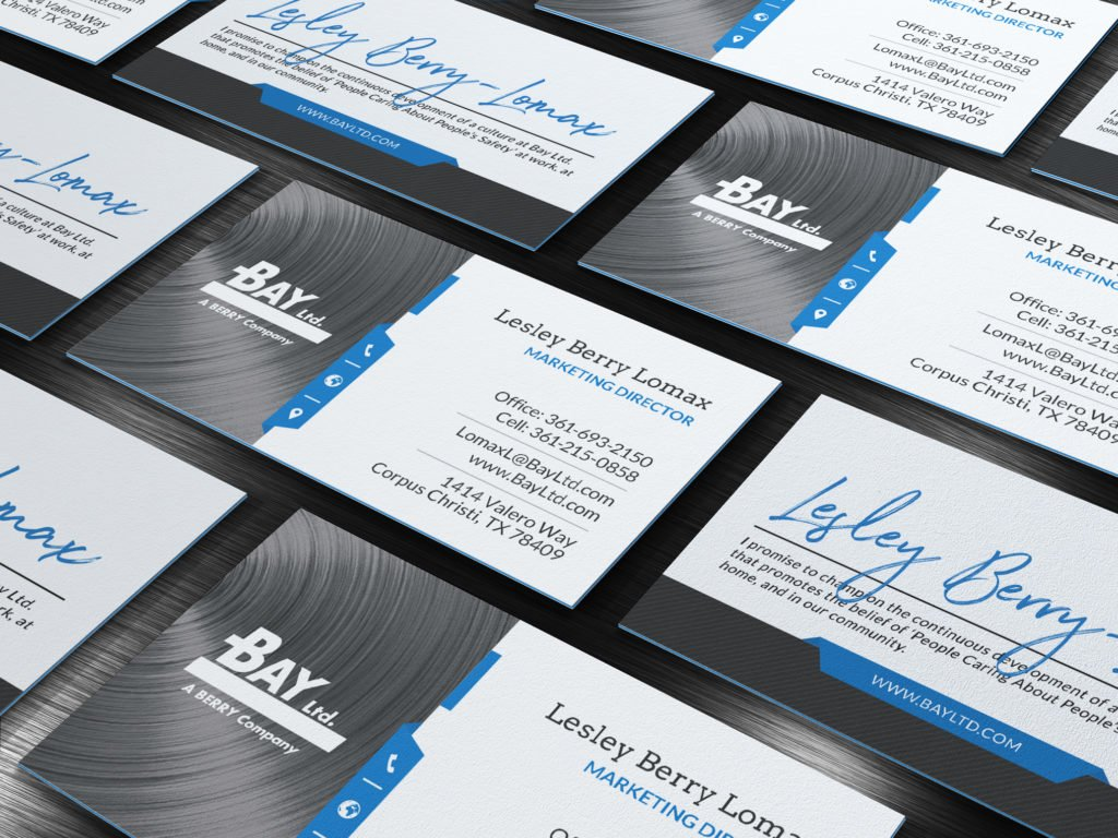 Bay Ltd. Print Design