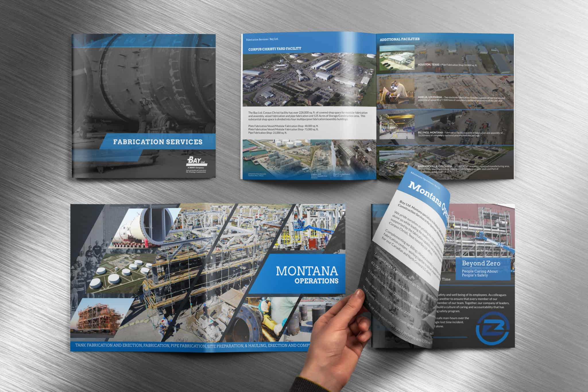 Bay Ltd. Fabrication Services and Montana Operations Brochures
